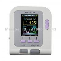 Contec08A Digital Blood Pressure Monitor Cuffs USB SpO2 Probe Pulse Rate Ox Oxi Meter Oximeter Oxymeter Patient Oxygen Sensor