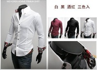 Wholesale Classic long-sleeved shirt decorated with noble Shirt men's shirt 1278