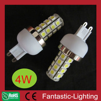 20pcs/lot G9 27 SMD5050 3W LED High Power Bulb 300lm G9 base lamp 5050SMD