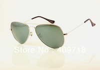 Free shipping Hot selling Fashion sunglass Brand sunglass men's/women's Designer Silver sunglass Silver mirror lens 58mm box