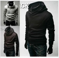 Wholesale  2012 arrival top brand men's jackets,men's dust coat,men'soutwear Hooded jacket coat US size M,L .XL.XXL