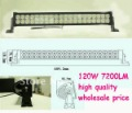 High Power 7200 lumens 24&quot; 120W Led Work Light Bar Offroad SUV Truck Mine Lamps