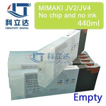 4PK/SET 220ML&440ML EMPTY Compatible Ink Cartridges for MIMAKI JV2 JV4 JV22 JV3 JV4 JV5  Roland SJ XC SP VP SC Mutoh