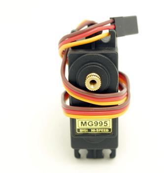 50pcs/lot wholesale - jr futaba metal gear  hi-speed MG995 Servo For RC Car boat  mg996r s9650 sg90 mg945 fast shipping