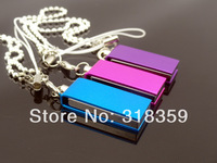 Free shipping Twist mini metal USB Flash Drive,  Promotion USB Pen Drive  8GB USB flash disk