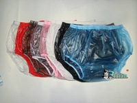 Wholesale+Guaranted 100% PVC 10pieces ADULT BABY diaper incontinence PLASTIC PANTS P005 +Full Size