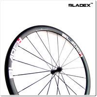 BladeX PRO ROAD CARBON WHEELSET 43850T - 38/50mm Tubular Carbon Wheels; Ceramic Bearings; Basalt Braking Surface;FREE SHIPPING