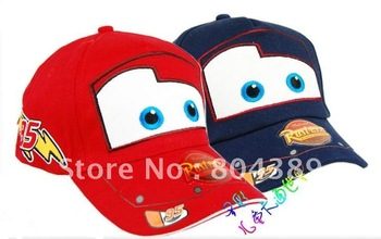 High quality   Pixar cars  Kid Child Hat Baseball cap free shipping