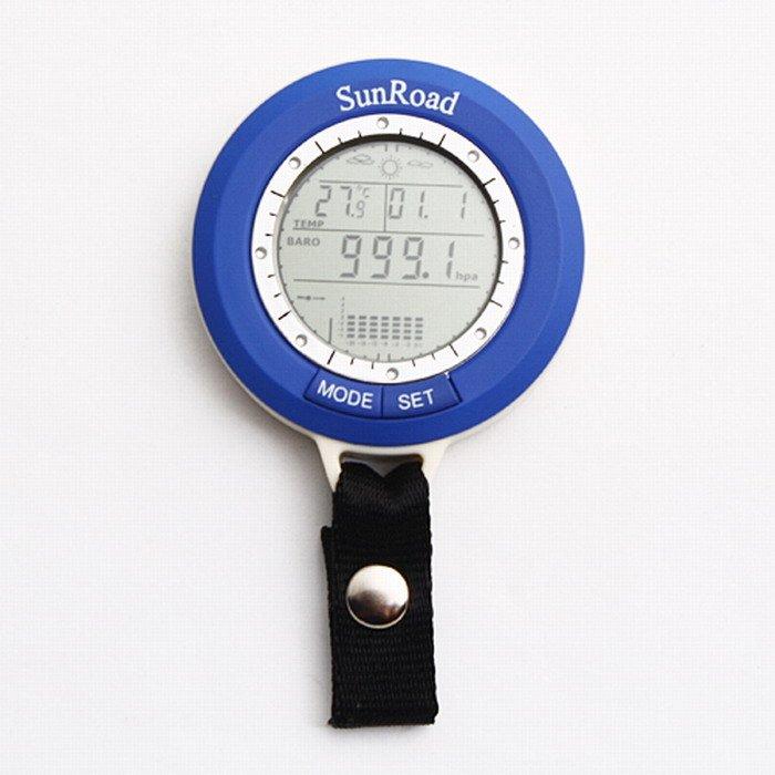 термометр и барометр в одном для рыбалки