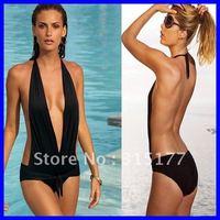 Plunge Monokini One-Pieces swimwear DHL Free shipping 2012 Swimwear Swimwear For Women Wholesale 10pcs/lot Swimsuit 40306