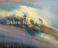 free shipping abstract canvas oil painting for home decoration
