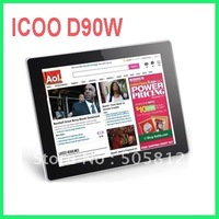 New & hot sale 9.7 inch Icoo D90W IPS screen Android 4.0 Tablet PC A10 CPU 1GB RAM/16GB Dual Cameras