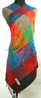 Free shipping lot 10 Pashmina silk Scarves Shawl Wrap Stole Scarf