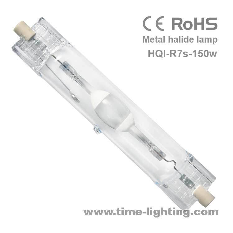 Wholesale HQI-T R7s 150W 20000K double-end aquarium metal halide lamp ideal light source for marine organisms free shipping(China (Mainland))