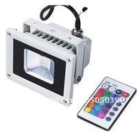9W 810LM 7 colors RGB Multicolored IR Remote Control LED Spot Light