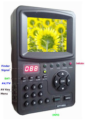 "KPT-966(3.5 "" LED Handheld Multifunctional Monitor)Satellite Finder"
