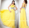 2012 NEW Hot Sexy high quality Designer Open back Chiffon Floor length Crystals Evening Dresses Gown