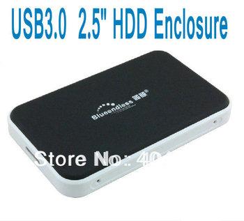 USB3.0 2.5-inch HDD Enclosure mobile hard disk box 2.5 inch SATA serial Hard disk box+Freeshipping