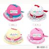 2011 hot sale kids cotton topee baby sun hat, baby summer hat children's barrel cap, baby fisherman cap, 10pcs/lot free shipping