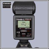 YONGNUO Upgraded TTL Multi Speedlite Flash Unit YN-468II YN-468 II for Nikon  D5000 D5100 D90 D80 D70s D60 D40x D40