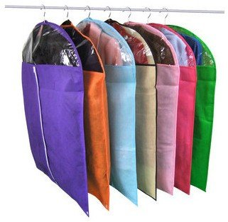 Household Non-woven fabric dustproof cover, clothes cover,garment cover suit, storage bag free shipping