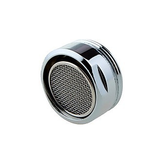 Cheapest in the world chrome brass 24 mm diameter External Thread Faucet Aerator