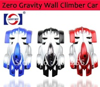 Wholesale Remote Control Zero Gravity Wall Climber Car 9920C 14cm mini wall climbing
