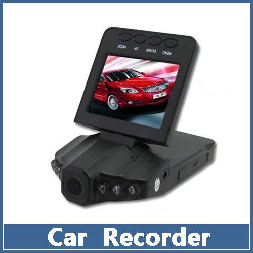 "1 Set Clearance Sale 2.5"" TFT LCD Car DVR HD Camera 6 IR LED 270 Degrees Rotation Portable Audio Video Recorder(China (Mainland))"