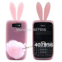 Free shipping! For Nokia E63 Rabbit silicone cartoon case 1pcs min order