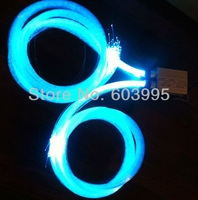 Free shipping  two coupling led engine and 800pcs star side optical fiber kits