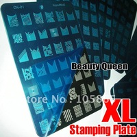 8 Style with 336 Designs Available CAN CHOOSE Nail Art Stamp Stamping XL Plate BIG Print Template Konad DIY