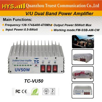 Best selling  Dual band handheld radio Amplifier TC-VU50