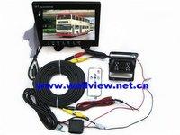 7inch lcd monitor 480*234 CCD Rear truck camera System 12V~24V DC