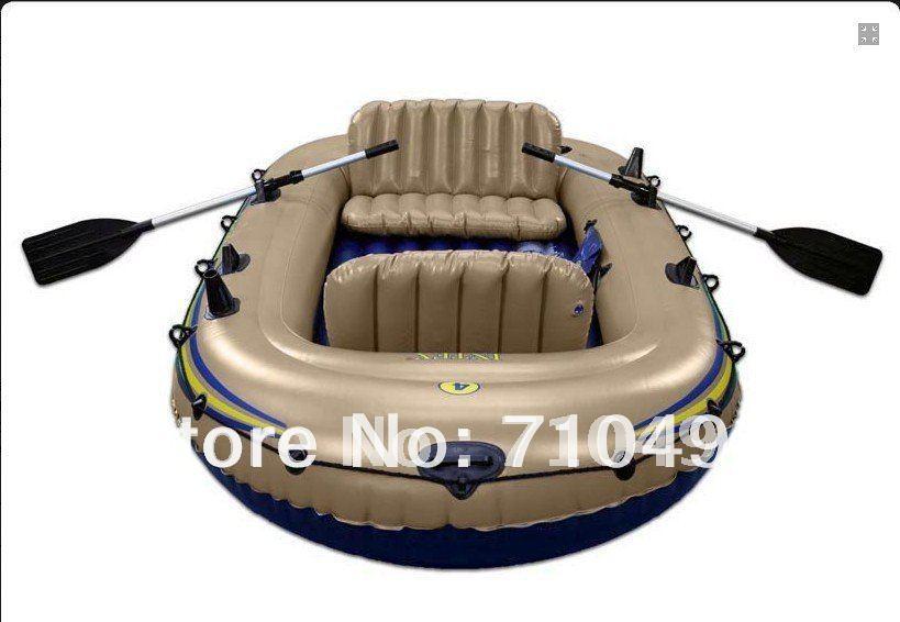 Bateau pneumatique gratuits dhl exp dition intex excursion 68324 quatre perso - Bateau gonflable 4 personnes ...
