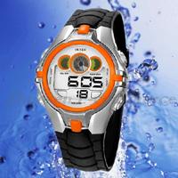 New OHSEN Sport Children's Boys LED Digital Chronograph Waterproof Quartz Wrist Watches 0739-3