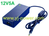 Power supply 12V switching power suply 12V 5A led power, ROHS,CE,UL,FCC,PSE,Fedex free shipping,100pcs/lot