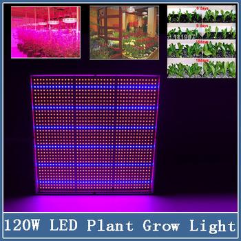 1x 120W 85-265V 1131Red+234Blue LED Grow Light Bulb Lamp for Flowering Plant Hydroponics system Yard Greenhouse Garden Lighting