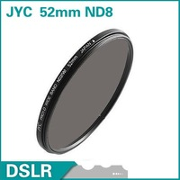 JYC 52mm Neutral Density ND8 Filter lens filter FREE SHIPPING