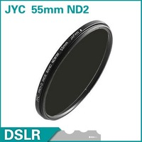JYC 55mm Neutral Density ND2 Filter lens filter Brand new