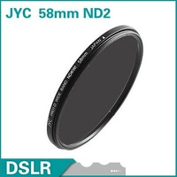 Hot! JYC 58mm Neutral Density ND2 Filter lens filter Brand new