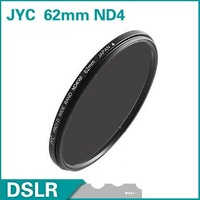 JYC 62mm Neutral Density ND4 Filter lens filter FREE SHIPPING