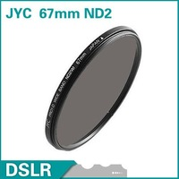 JYC 67mm Neutral Density ND2 Filter lens filter FREE SHIPPING