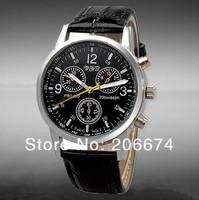 NEW Watch restoring ancient ways Fashionable Quartz Wrist Watch men's watch Archaize watch(black)+free shipping
