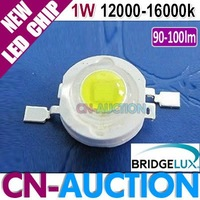 FS! Bridgelux LED 1W Cool White High Power LED Chip 45mil 90-100lm Lamp Beads 12000k-16000k 50pcs/lot (CN-BLC01) [Cn-Auction]