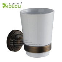 Xiduoli Free shipping European Style Wall Mount Ceramic Cup Holder XDL-12607