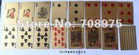 In 2012 the new gold foil gold foil gold 24K color playing cards poker poker advertising poker custom