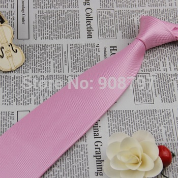Brand new Classic Men's Necktie Wedding Groom Party Neckties 100% Silk Tie Handmade Pink Ties D.berite Wholesale