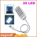 Bright Flexible Mini 28 LED USB Light Computer Lamp for Notebook computer PC FREE SHIPPING