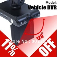 hot free ship 2.5&quot; 4 IR TFT LCD Night Vision 120 degree  HD Car Camera DVR or Car camera recorder