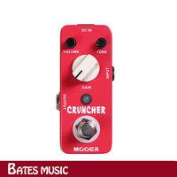 NEW Effect Guitar Pedal /MOOER CRUNCHER Distortion Pedal,True bypass
